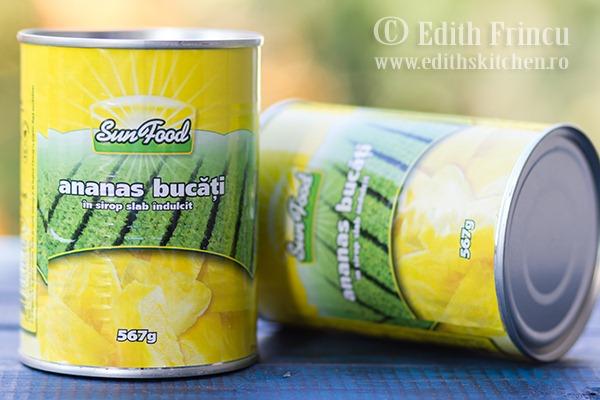 conserve ananas