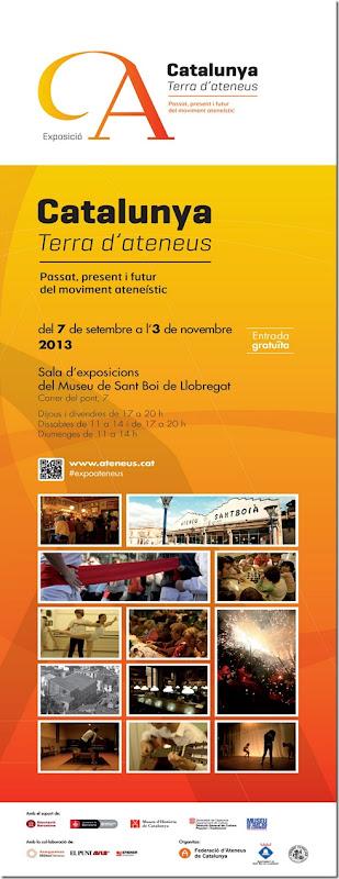 2013-09-10 Catalunya, Terra d'Ateneus (Cartell)