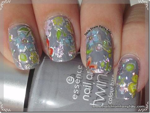 flower nail foil