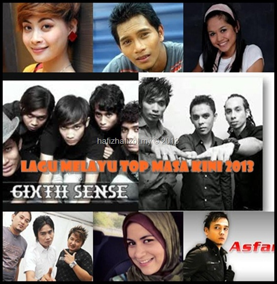 Lagu Melayu Top masa kini 2013