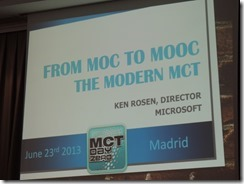 #mctdayeu 2013 Madrid-Spain 010