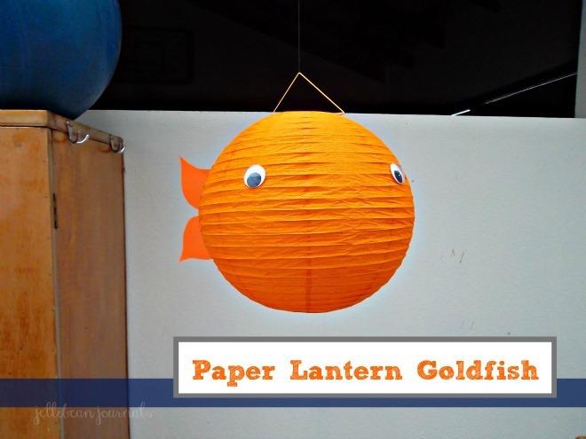 paper lantern goldfish tutorial