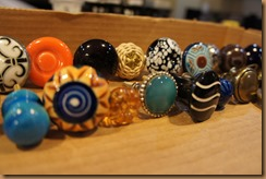 13 gathering knobs