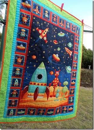 Marcus's quilt 2013