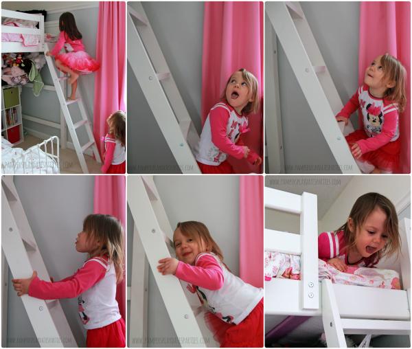 Girls Shared Room Climbing Loft