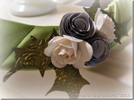 Embossed Holly Leaves