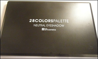 BH Cosmetics 28 Neutral Palette