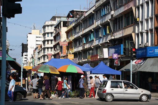 Central Sandakan's weekly market