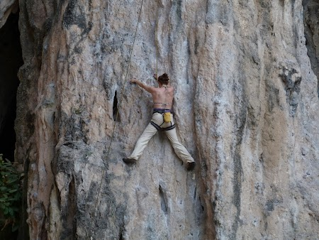 Climbing in Railay
