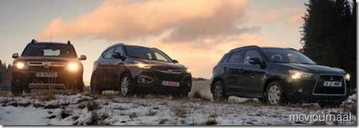 Dacia Duster - Hyundai ix35 - Mitsubishi ASX 03