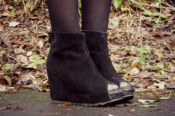OASAP wedge boots