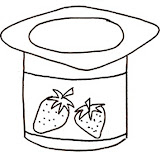 Yogurt Coloring Pages Yogurt Coloring Page