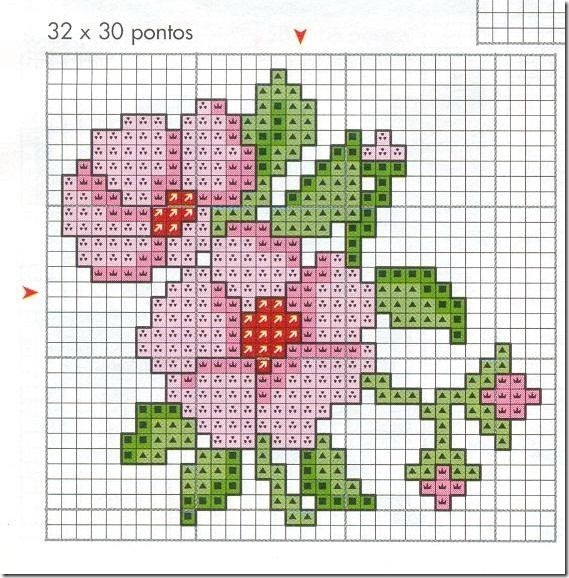 Ponto Cruz-Cross Stitch-Punto Cruz-Punto Croce-Point de Croix-220