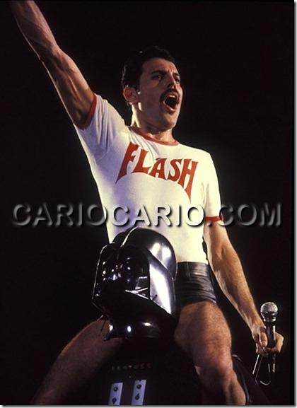 Freddie Mercury e Darth Vader