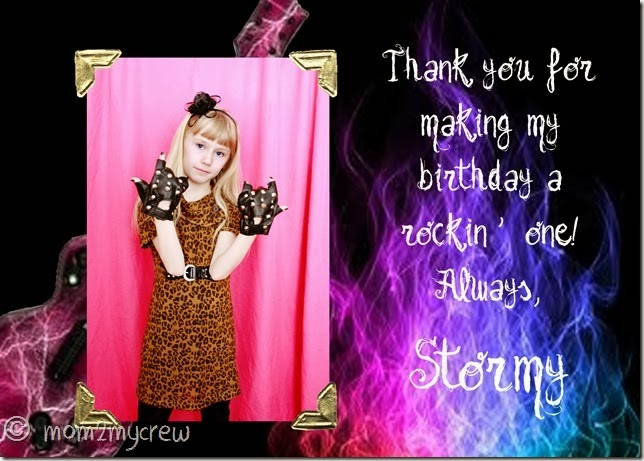 Stormy thank you copy