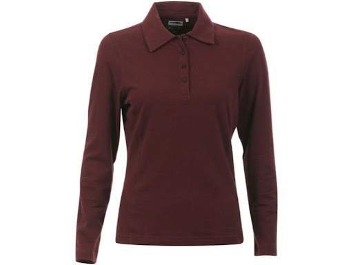 Long Sleeve Women Polo Shirts