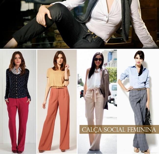 calça social feminina modelos1