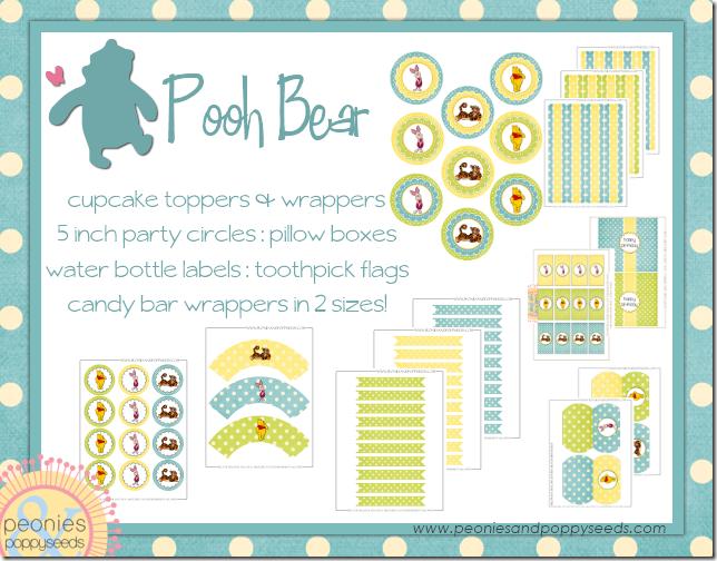 winnie the pooh wrapper set copy