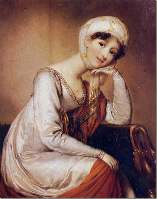 Dorothea von Medem, Femme en costume Turc
