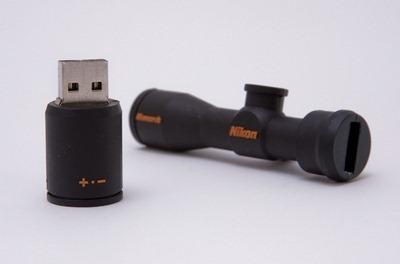 Riflescope USB memory stick