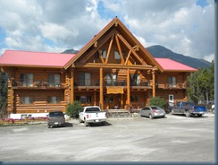 Northern Rockies Lodge, Mile 462 Alaska Highway, Muncho Lake, BC - August 1, 2010