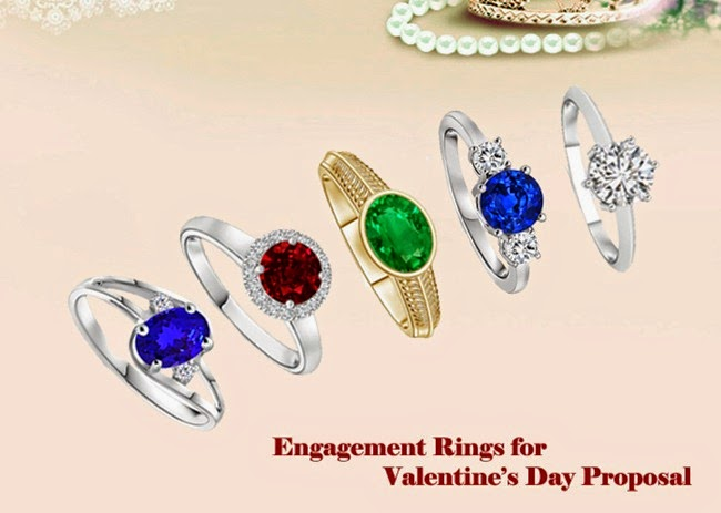 Engagement Rings for Valentines Day