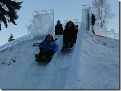 me and tammy ice slide
