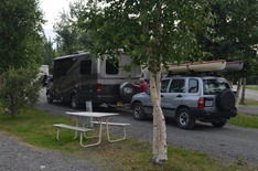 Home for the night at Tok RV Village number 82