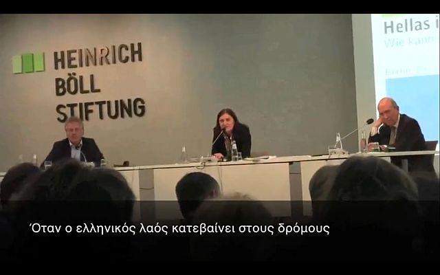 Αποδοκίμασαν τον Σημίτη στο Βερολίνο (video)