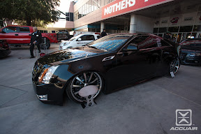 Doug Kaley&#039;s Cadi built by Sadistic Iron Werks equipped with AccuAir e-Level.