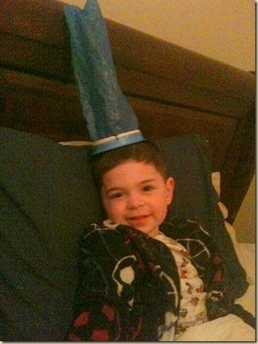 Barf bag hat