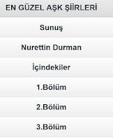 Screenshot of En Güzel Aşk Şiirleri