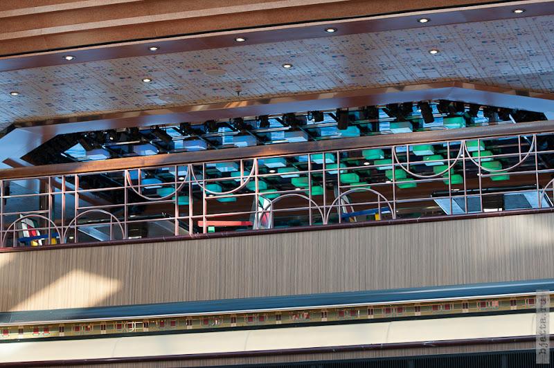 7. Круиз на Costa Concordia. День 7-й. Морской день, из Фуншала в Малагу, через гибралтар. Пустующий VIP балкон.