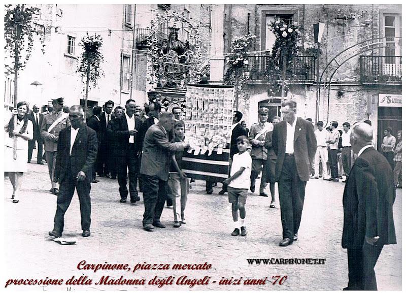 Processione Madonna degli Angeli, inizio anni 70