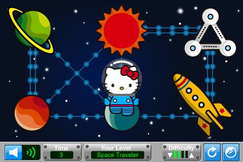 Hello Kitty Space Travel Videogame 02