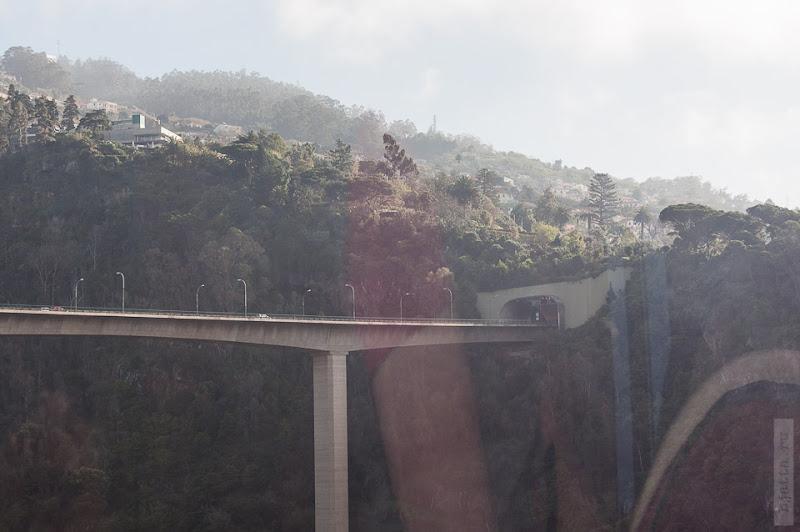 77. Февраль. Мадейра. Канатная дорога. Фуншал. Мост из норы в нору.