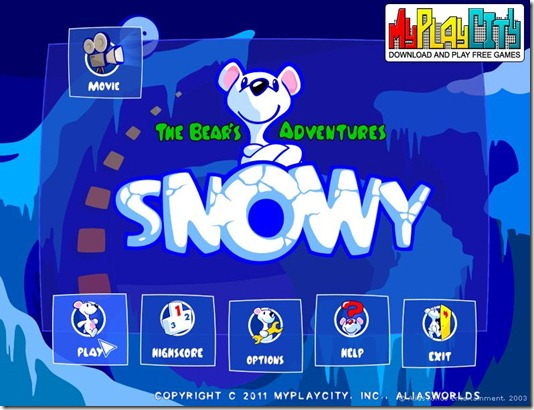 Snowy - The Bear's Adventures free full game 01