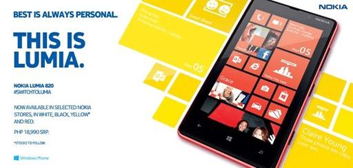 Nokia Lumia 820 Philippines