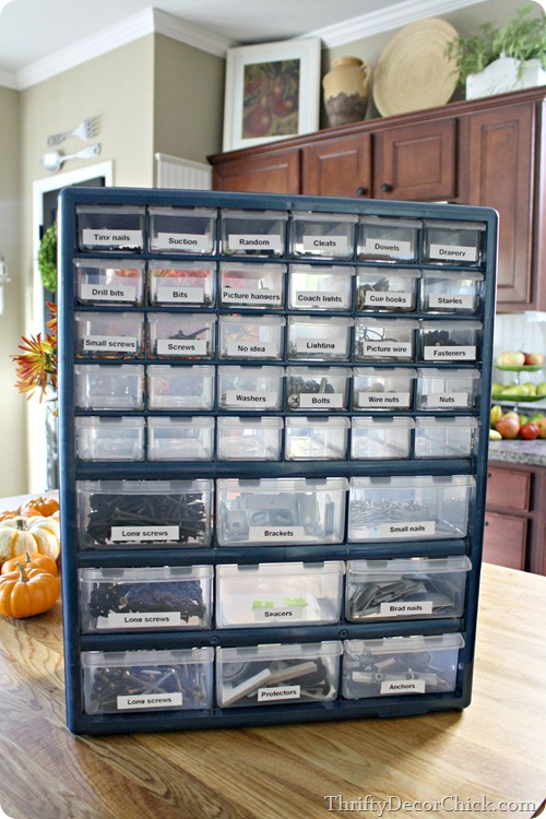 organizing small tools