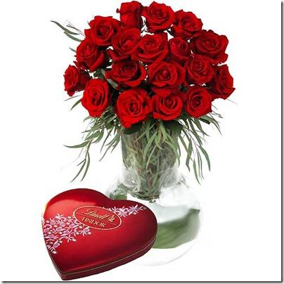 en la tarjeta que acompañe un ramo de flore s o una caja de bombones