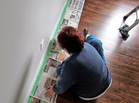 1411086 Nov 09 Painting Bedroom Baseboards