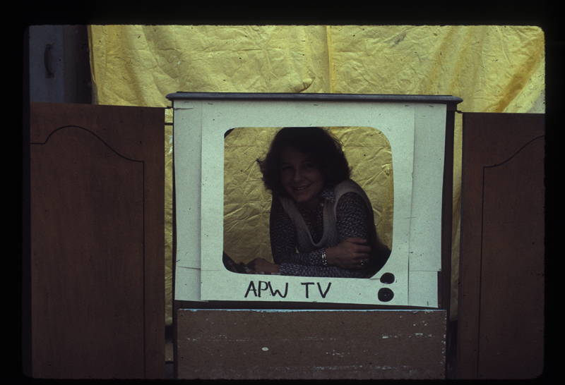 Jeri Estes, outreach for Alcoholism Progam for Women, APW TV. Circa 1975