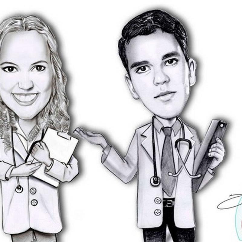 Caricatura de Médicos