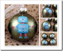 Little Robot Ornament