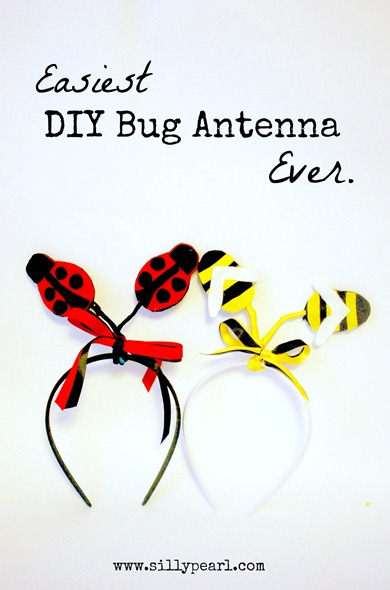 Easiest DIY Bug Antenna (Ladybug and Bee) Ever by The Silly Pearl