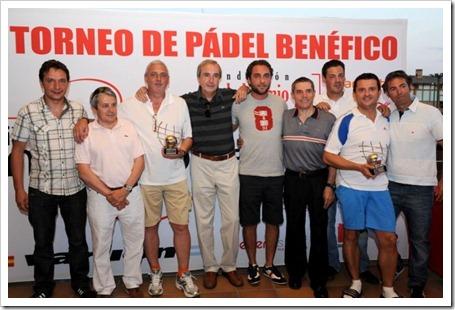 """Finaliza con éxito el I Torneo de Pádel Benéfico de la """"Fundación Isabel Gemio"""" en Madrid patrocinadores"""
