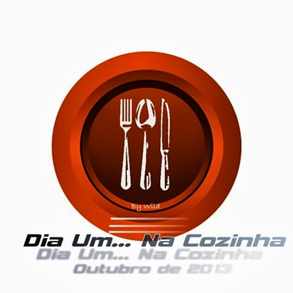 Logotipo Dia Um... Na Cozinha Outubro 2013