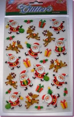 Hobbycraft Santa Stickers