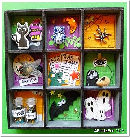 Halloween Mini Printers Tray