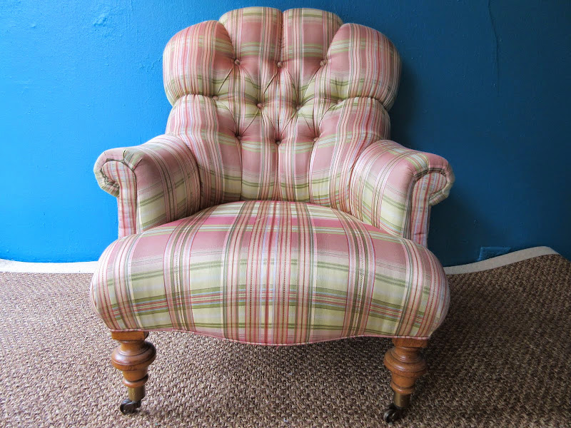 Ethan Allen Tufted Lounge 2